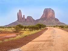 View of the Hombori area in Mali