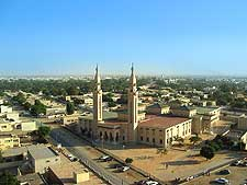 Mauritania image, showing the Central mosque in Nouakchott