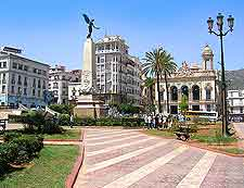 Image of the Place des Armes in Oran, Algeria