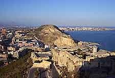Coastal view of Alicante