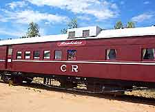 Picture of train at the Old Ghan Heritage Railway and Museum