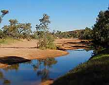 View of the Todd River