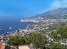 View of the Amalfi Coast