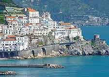 Amalfi coastal view