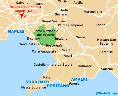 Small Amalfi Map