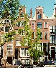 Photo showing buildings and architecture to be found in Amsterdam