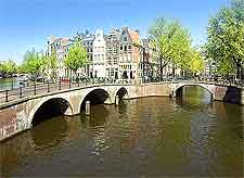 Image showing the Keizersgracht Canal, taken by Janericloebe