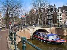 Picture of the Keizersgracht Canal, photo by Jorge Royan