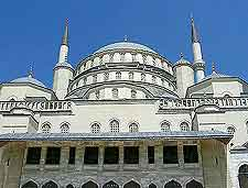 Ankara picture of the Kocatepe Mosque