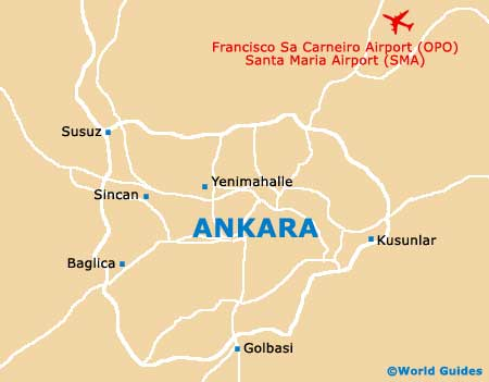 Small Ankara Map