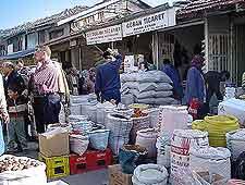 Picture of local Turkish bazaar