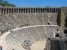 Photo of amphitheatre in Aspendos
