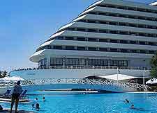 Image showing the Titanic Beach Hotel in the Lara resort