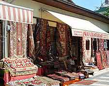 Image of local Turkish carpet shop