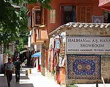 Photo of shops in the Old Town (Kaleici)