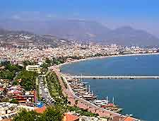 Alanya coastal photograph