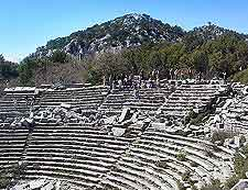 Photo of the ruined Pisidian city of Termessos