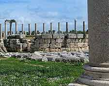 View of the Ancient City of Perge (Perga)