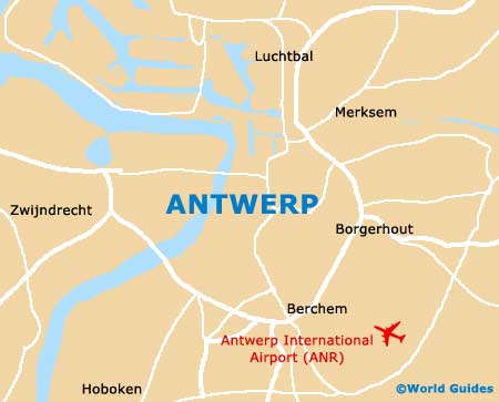 Small Antwerp Map