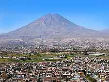 Photo of the Arequipa El Misti Volcano