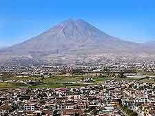 Photo of the Arequipa El Misti Volcano
