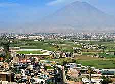 Further view of the Arequipa Misti Volcano