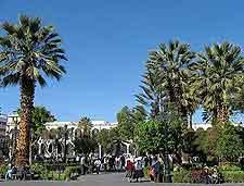 Further photo of the Plaza de Armas