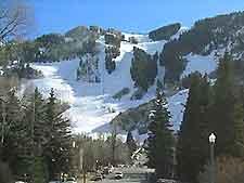 Aspen mountain view
