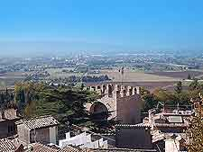 Aerial image of Assisi