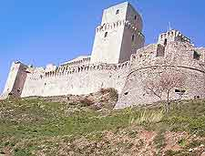 Picture of the La Rocca Maggiore (The Large Fort)