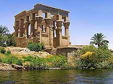 Photo showing the Philae Temple