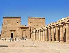 Different view of Philae Temple