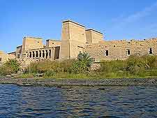 Different image of the Philae Temple