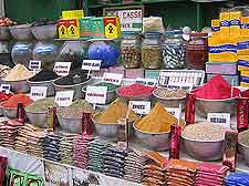 Picture of colouful Egyptian spices
