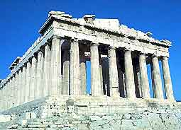 Photo of the world-famous Athens Acropolis
