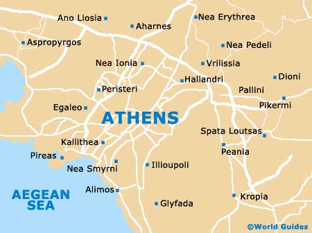 Small Athens Map