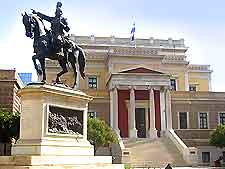 Further photo of the National Historical Museum (Old Greek Parliament)