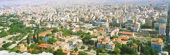 Athens cityscape