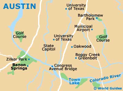 Small Austin Map