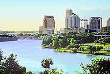 Picture showing a view of Austin
