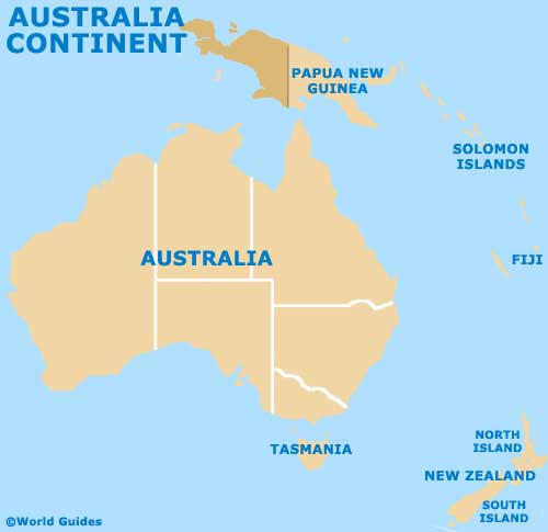 Australia Continent Tourism And Tourist Information Information - Which continent is austria located