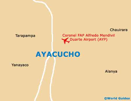 Small Ayacucho Map