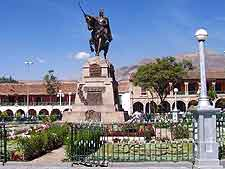 Further picture of the Plaza de Armas