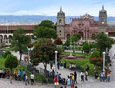 Different view of the Plaza de Armas