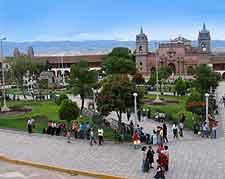 Picture of the Plaza de Armas