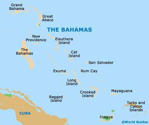 Nassau Maps and Orientation Nassau New Providence Island Bahamas