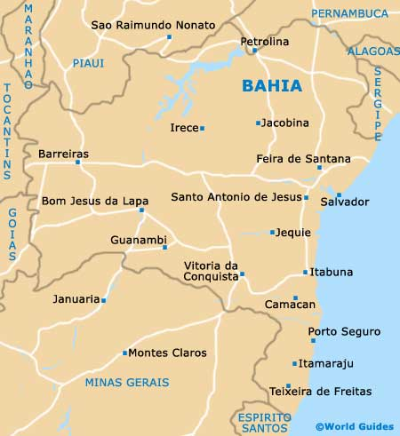 salvador bahia map Quotes