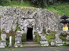 Image of the Goa Gajah (Elephant Cave)