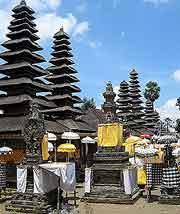 Further view of the Pura Besakih (Mother Temple of Besakih)