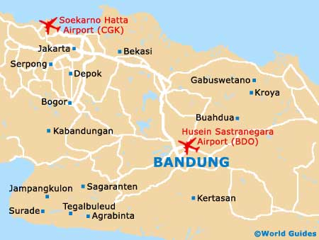 Bandung Travel Guide and Tourist Information Bandung West Java